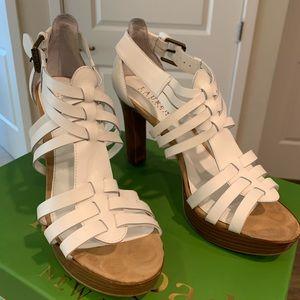 Ralph Lauren sandals with a heel